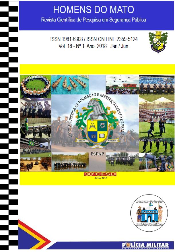 RHM - Homens do Mato - Revista Científica de Pesquisa em Segurança Pública - Mantida pela Polícia Militar de Mato Grosso (PMMT).